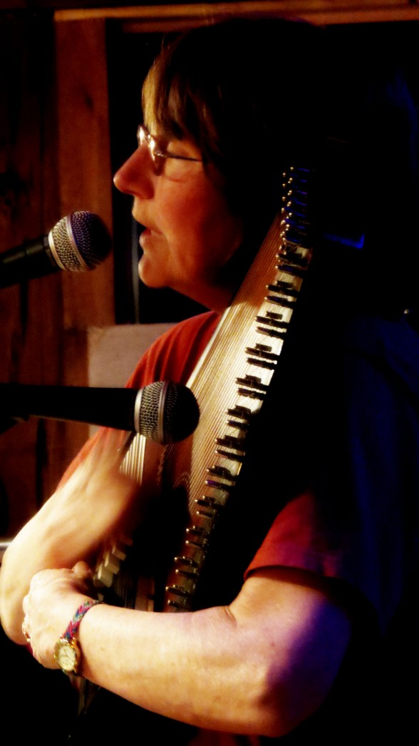 nan hoffman playing autoharp